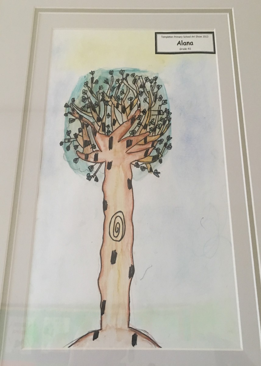 2013 Art Show Winner 'The Tree' By Alana 4M