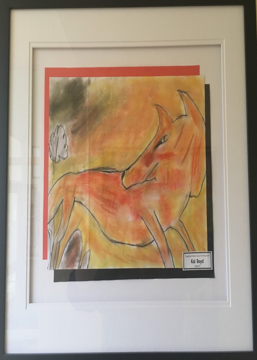 2015 Art Show Winner 'The Fox' By Kal 4T