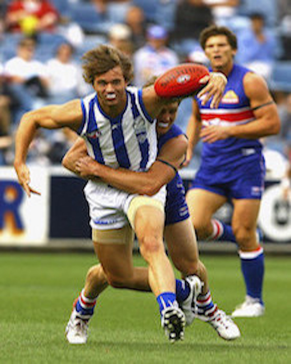 Drafted by North Melbourne with Pick #41 in the 2009 AFL National Draft. Ayden was a gifted junior footballer, playing at half forward at the Eastern Ranges before playing for Werribee in the VFL. Graduated Templeton 2002