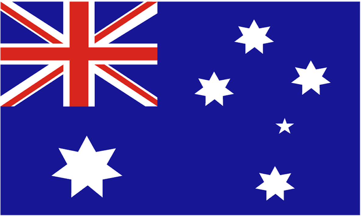 The flag of Australia has a blue field with the Union Jack in the canton (upper hoist quarter), and a large white seven-pointed star known as the Commonwealth Star in the lower hoist quarter. The fly contains a representation of the Southern Cross constellation, made up of five white stars – one small five-pointed star and four, larger, seven-pointed stars. There are other official flags representing Australia, its people and core functions of government.  The flag's original design (with a six-pointed Commonwealth Star) was chosen in 1901 from entries in a competition held following Federation, and was first flown in Melbourne on 3 September 1901, the date proclaimed as Australian National Flag Day. A slightly different design was approved by King Edward VII in 1903. The seven-pointed commonwealth star version was introduced by a proclamation dated 8 December 1908. The dimensions were formally gazetted in 1934, and in 1954 the flag became recognised by, and legally defined in, the Flags Act 1953, as the 'Australian National Flag'.